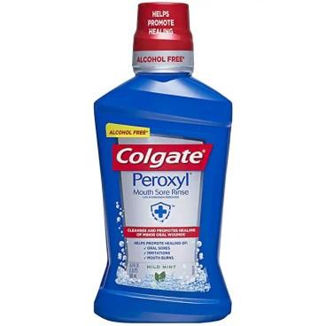 Colgate Peroxyl Mouth Sore Rinse
