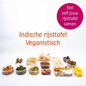 vegan rijsttafel bestellen veganisch