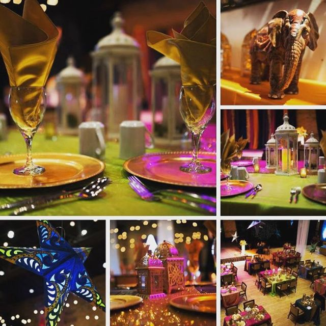 Some of the decor that we did for the Experiencehellip
