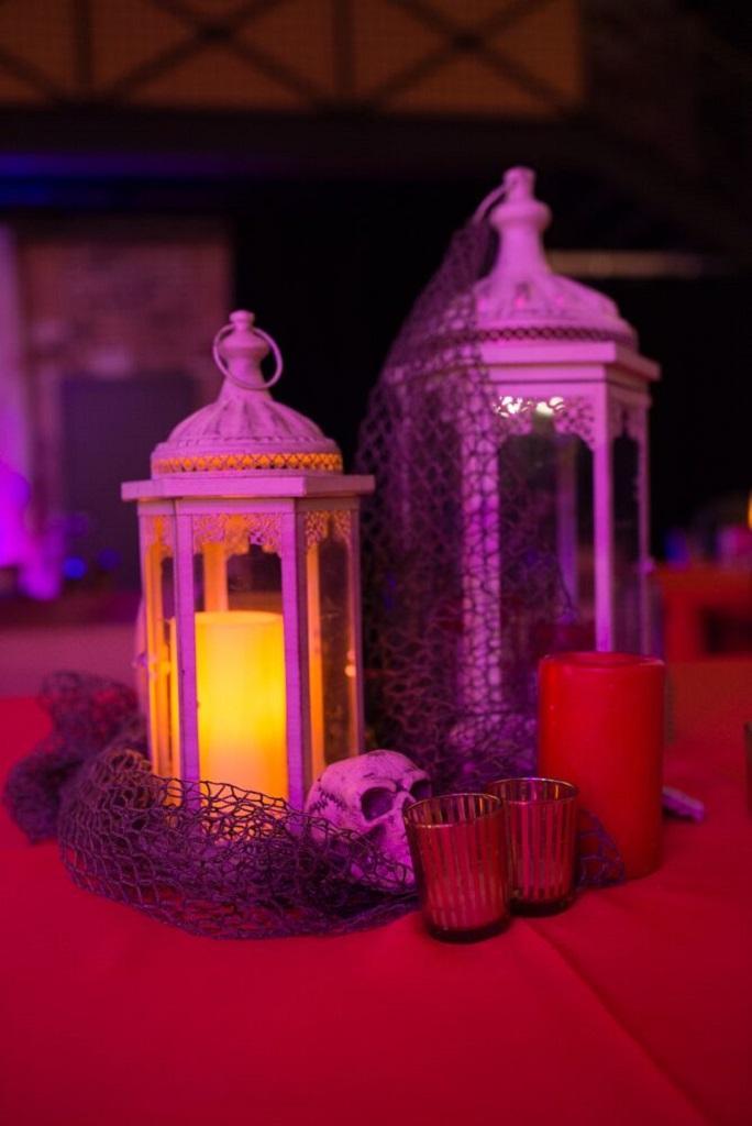 Halloween Centerpiece Candle
