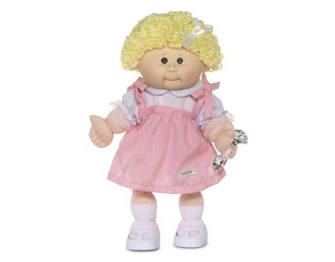 Cabbage Patch Kids 25th Anniversary Doll Blonde Girl
