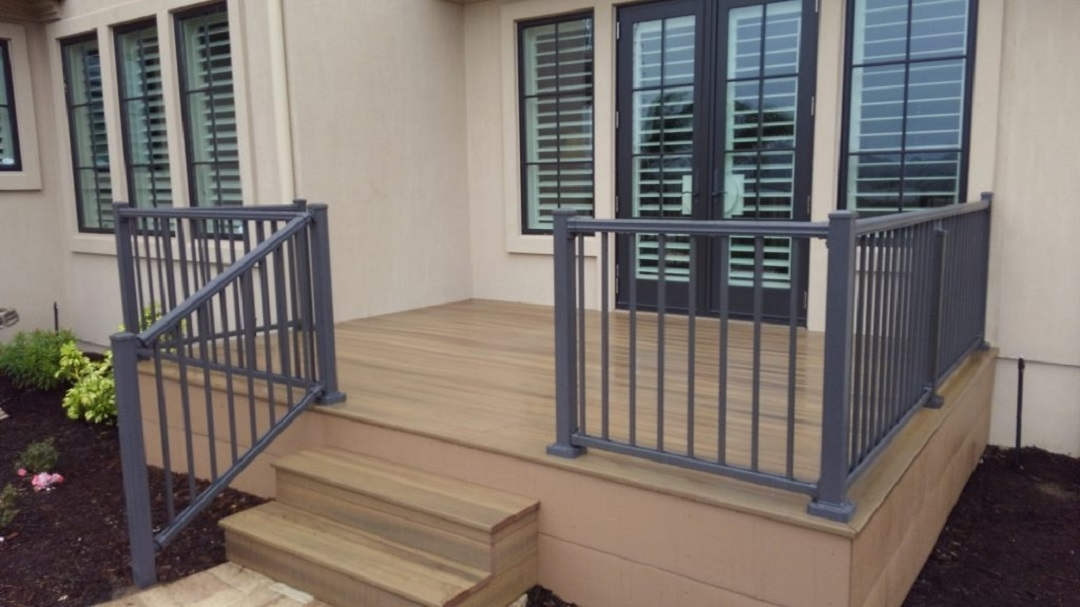 Handrails And Rails For Your Home Best Fence Rail Of Florida | Outdoor Handrails For Elderly | Mobility | Old Person | Deck | Ireland | Wrought Iron
