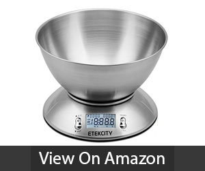 Etekcity Digital Food Scale With Bowl Review