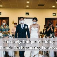 7 Insanely Unique Wedding Trends I'm Predicting For 2022