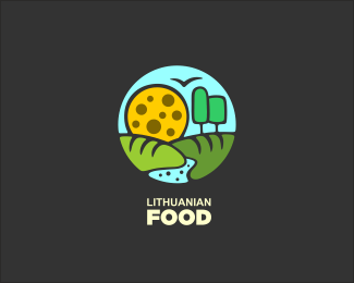 57 60 Delicious Food Inspired Logo Design