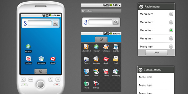 android gui 4 15 Fresh And Free Download GUI Kits for Android Developers