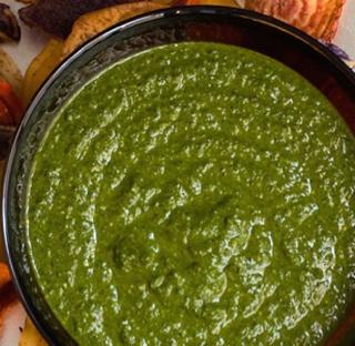 Garlicky Spinach Dip
