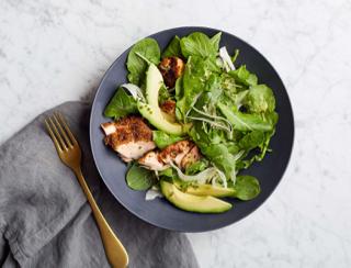 Detox Salad with Salmon