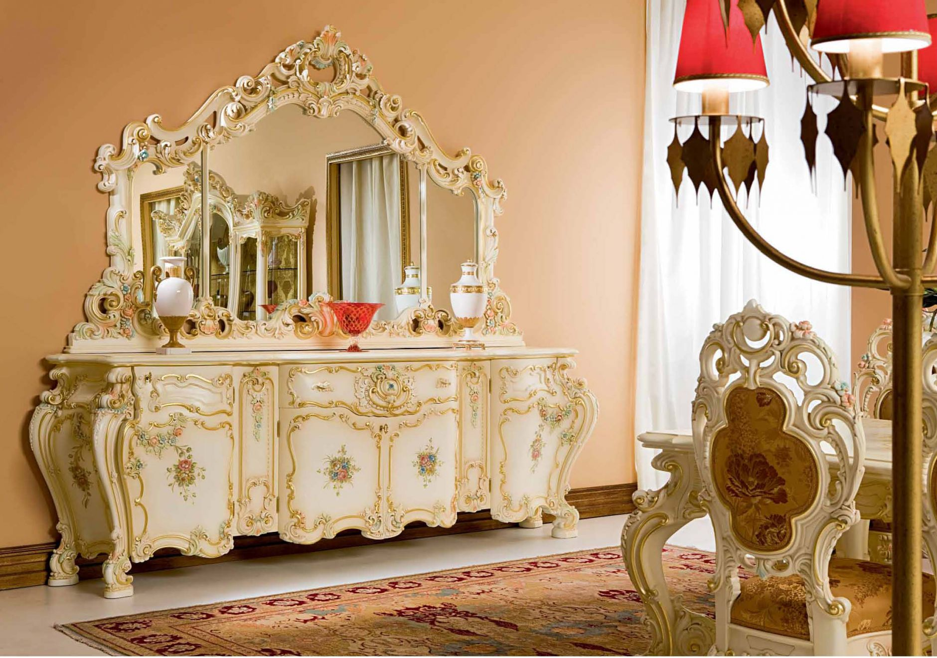 LUXURIOUS FURNITURE Luxury Dining Room SILIK MINERVA