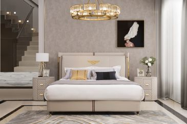 leather bedroomfurniture from italy