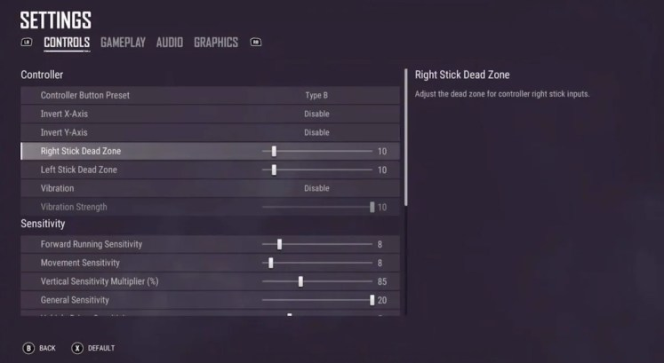 The Best Console PUBG Settings
