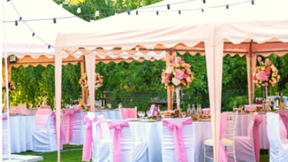 gazebos for parties