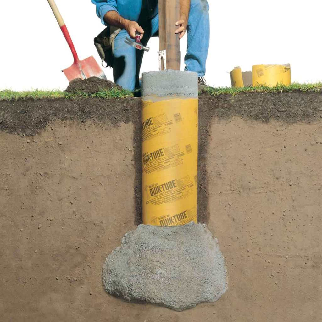 FH01DJA 02177002 solid frost proof concrete footings featured image