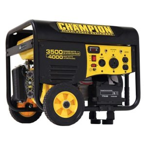 Champion Power Equipment 3500 Watts Gas Powered Portable Generator Review