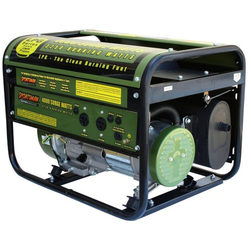 Propane Powered Generator