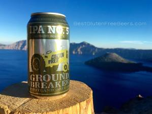 ground breaker brewing gluten free beer spa no. 5 pale dark ale