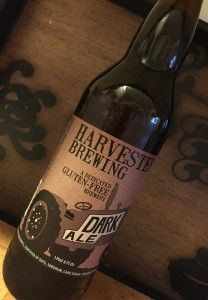 harvester brewing dark ale gluten free beer review