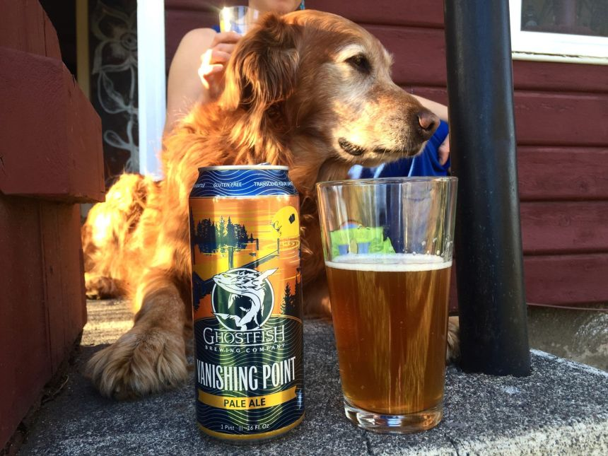 ghostfish brewing vanishing point pale ale best gluten free beers reviews seattle washington gluten free brewery
