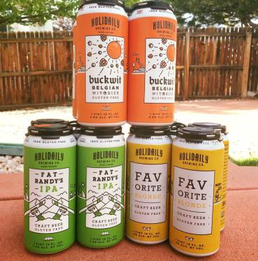 holidaily brewing company gluten free beer brands