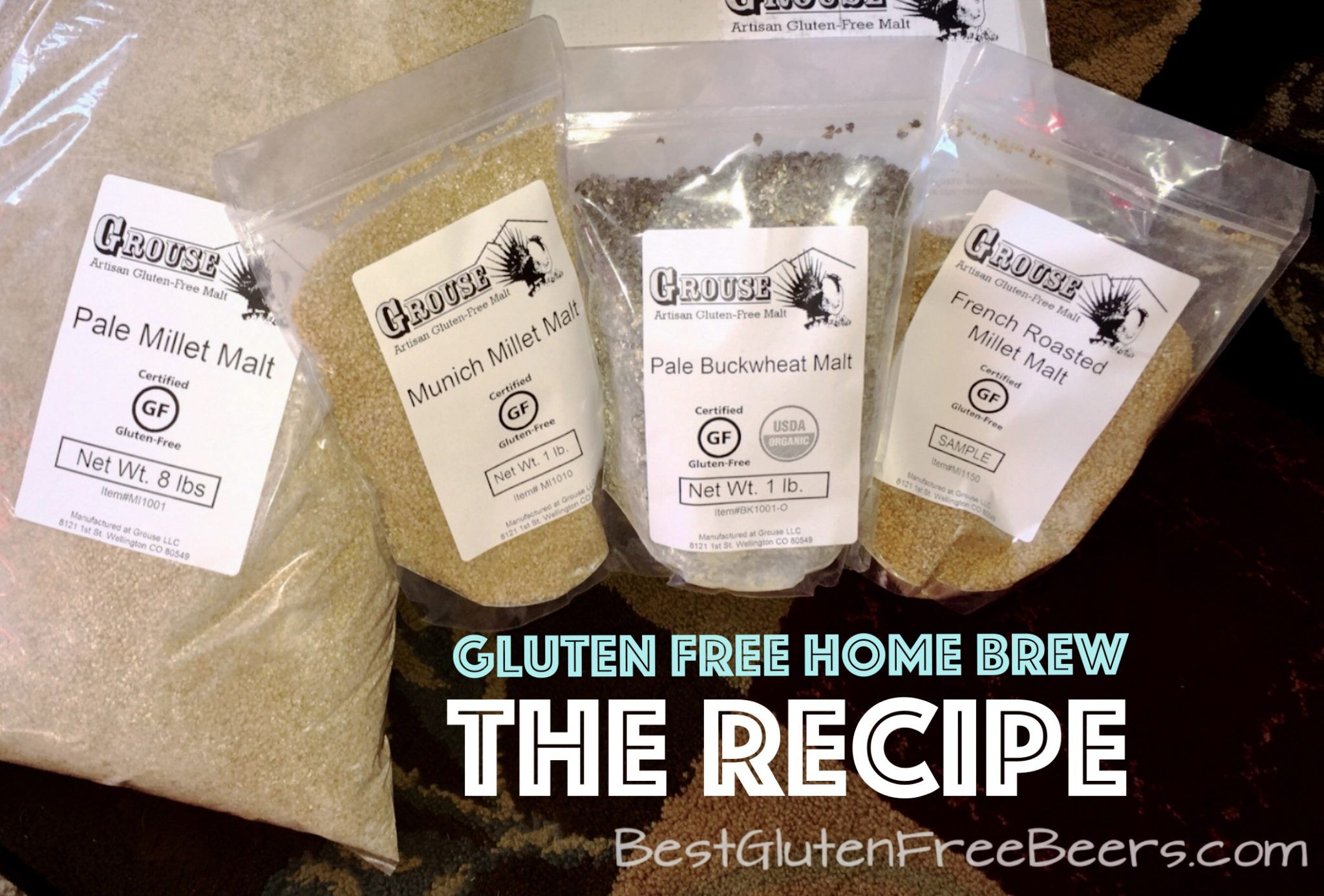 gluten free home brew recipe
