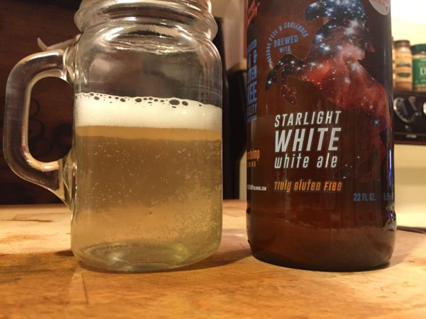 moonshrimp brewing starlight white ale best gluten free beers