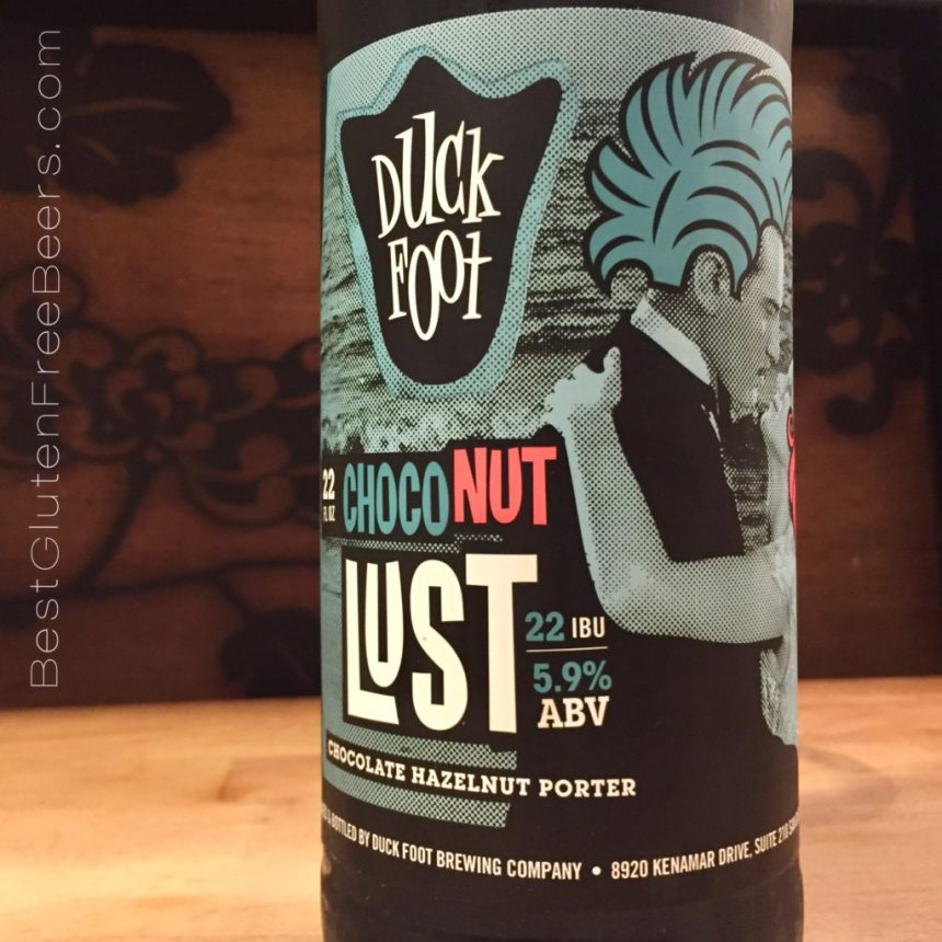 duck foot brewing choconut lust porter