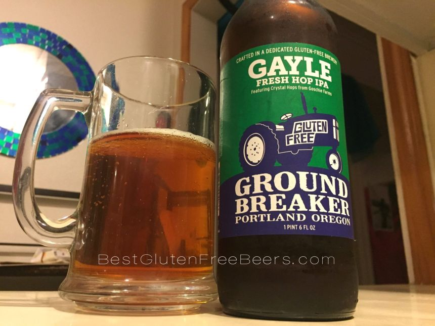 ground breaker brewing gayle fresh hops ipa
