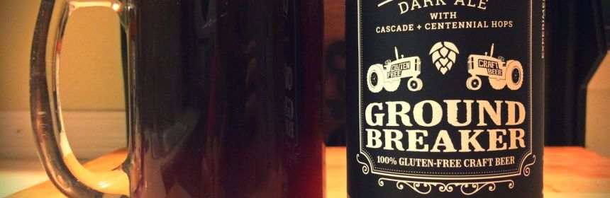 Gluten Free Beer Review: Ground Breaker Cascadian Dark Ale