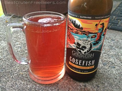 Ghostfish Brewing Gosefish Hibiscus-Cranberry Ale