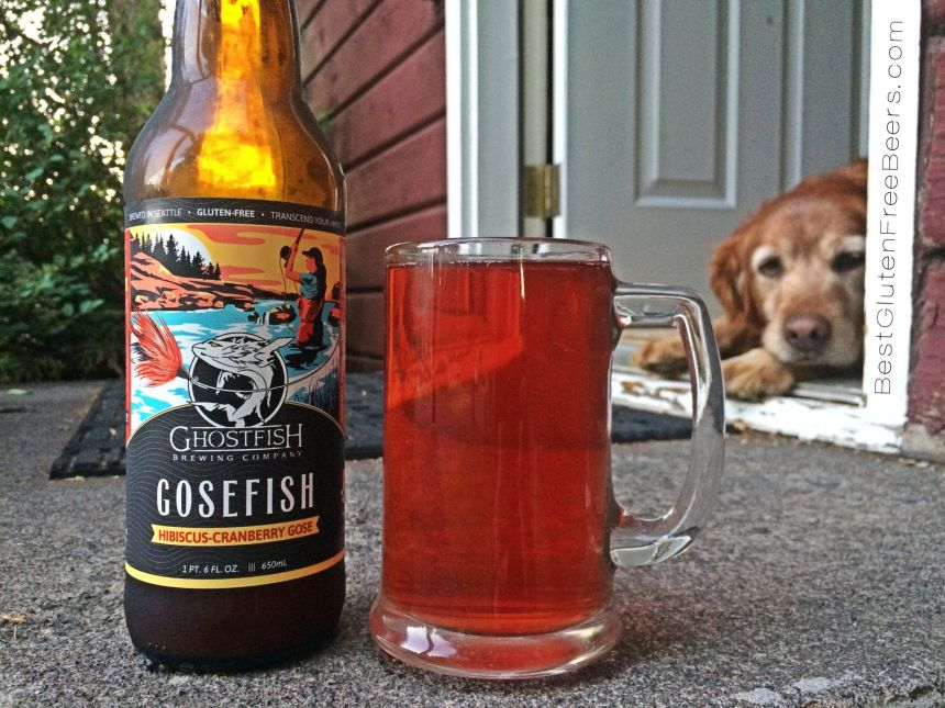 Ghostfish Brewing Gosefish Hibiscus-Cranberry Ale