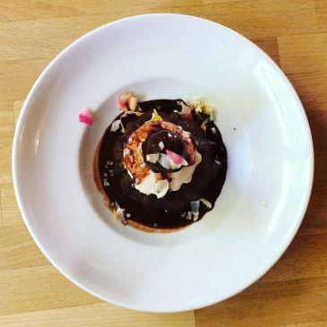 Taproom Experience: Ground Breaker Brewing Gluten Free Dairy Free Dessert
