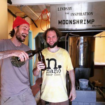 Brewery Tour: Moonshrimp Brewing (Portland, Oregon)