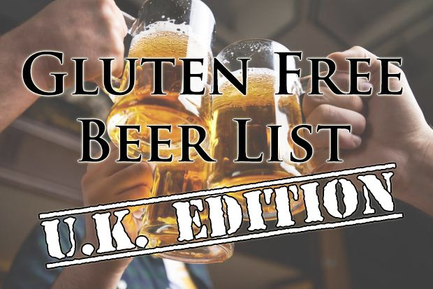 Gluten Free Beer Brand List (U.K. Edition)