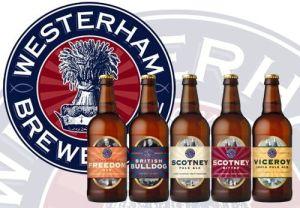 St. Peter's Brewery gluten free beer