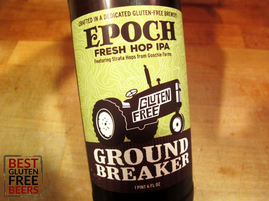 Ground Breaker Epoch Fresh Hop IPA Gluten Free Beer Review