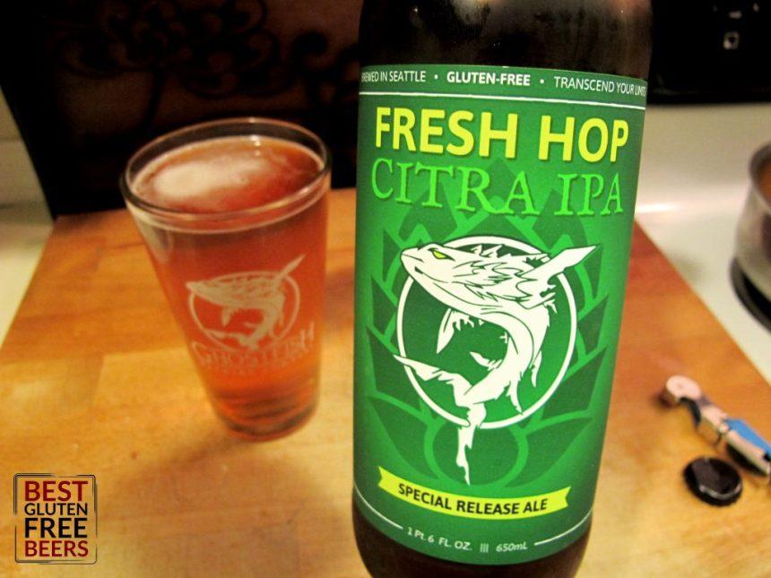 Ghostfish Brewing Citra Fresh Hop IPA