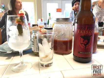 Ghostfish Brewing Ghostpepper Saison Bloody Beers
