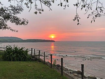 Sunset in Santa Cruz de Miramar