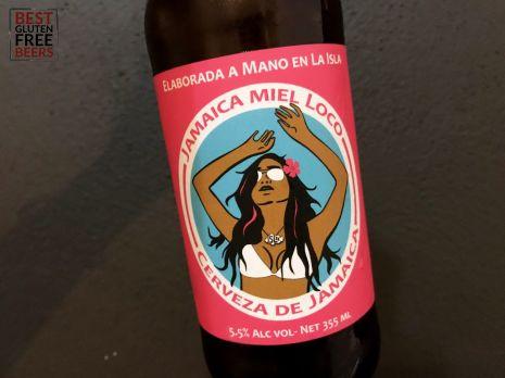 Isla Brewing Company Jamaica Miel Loco Gluten Free Beer Review 3