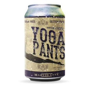 Martin City Brewing Company Operation: Yoga Pants gluten free Golden Ale