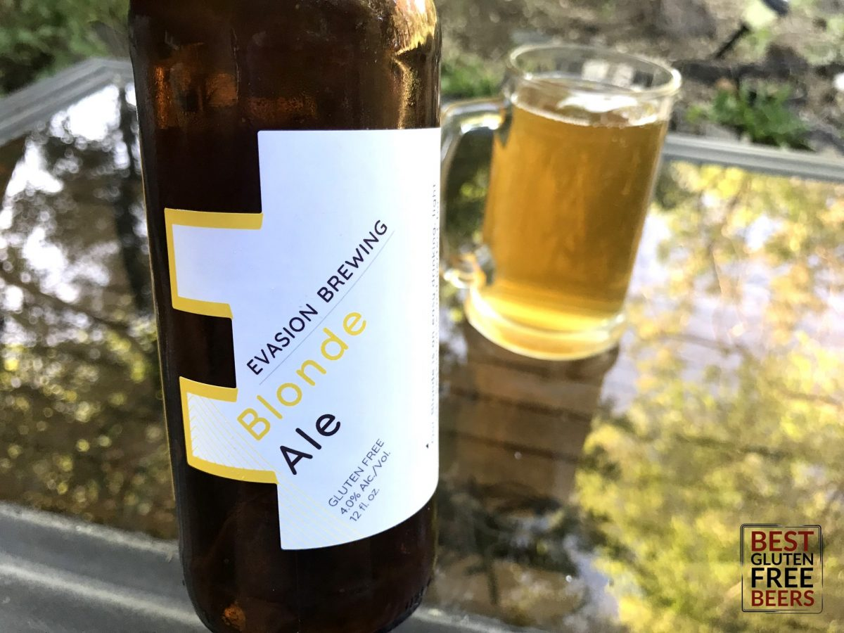 Evasion Brewing Blonde Ale Gluten Free Beer Review