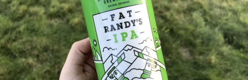 Holidaily Brewing Fat Randy's IPA gluten free beer review