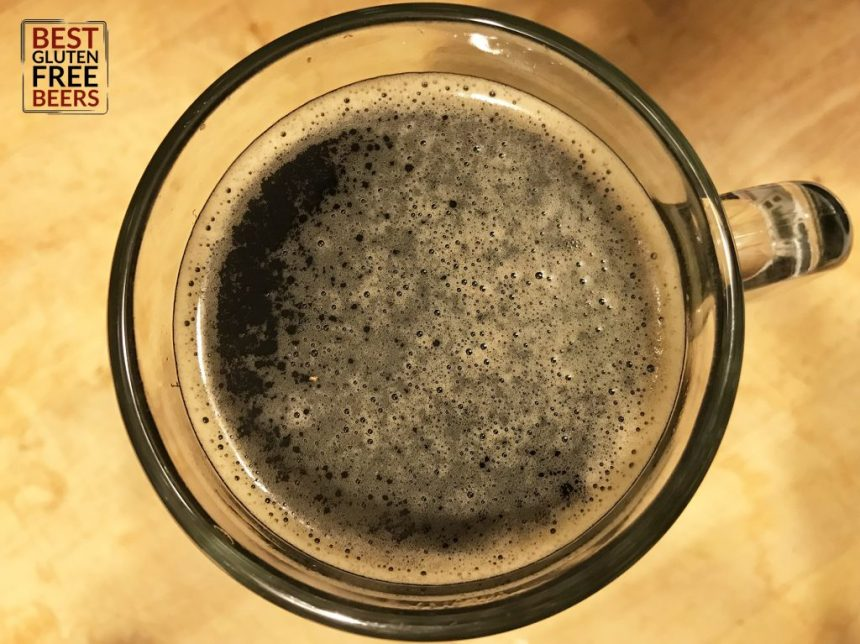 Holidaily Brewing Riva Stout gluten free beer review