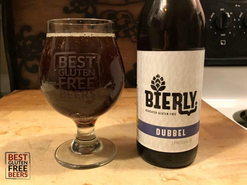 bierly brewing dubbel gluten free beer review