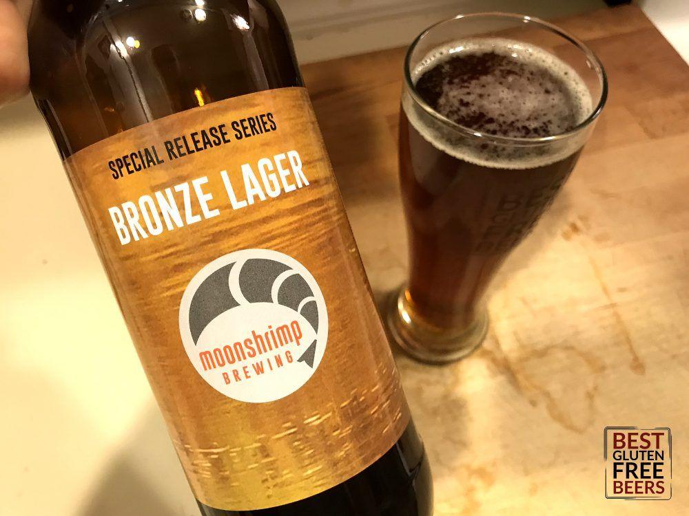 Moonshrimp Brewing Bronze Lager Gluten Free Beer Review