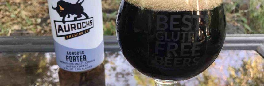 Aurochs Porter gluten free beer review