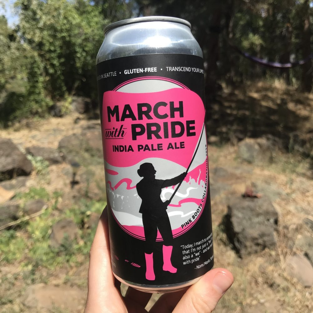 Ghostfish Brewing March With Pride IPA