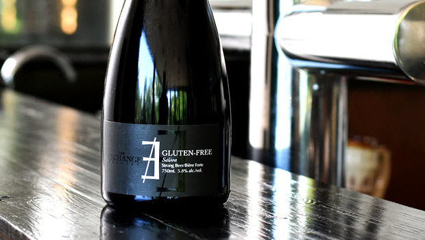 The Exchange Brewery gluten free saison