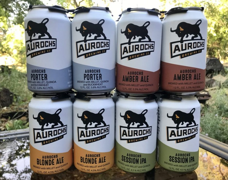 Aurochs Brewing Co gluten free beer brands