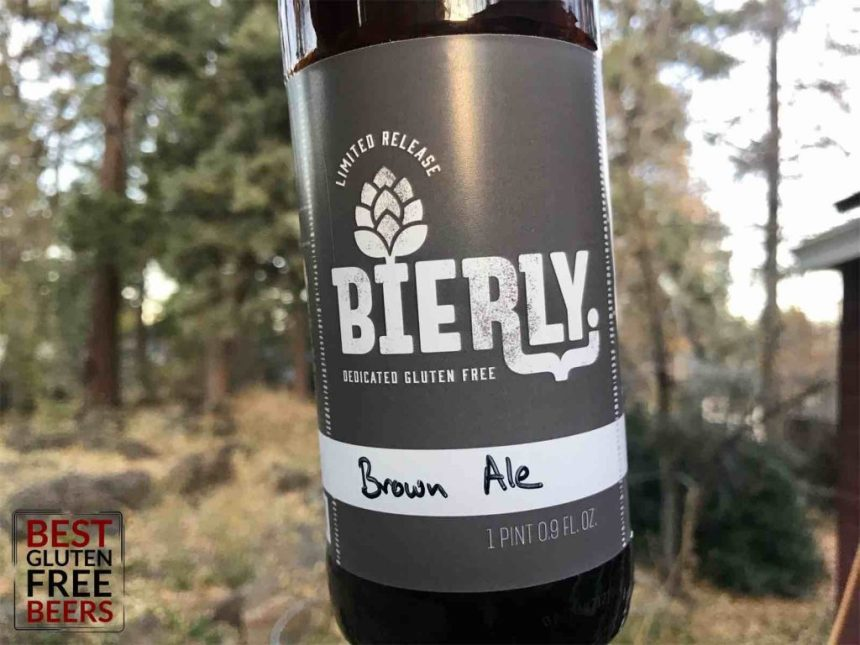 gluten free brown ale